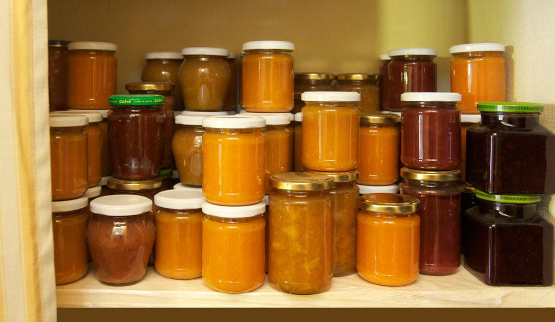 My jam cupboard