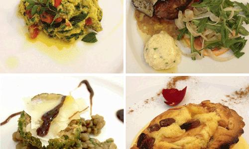Food: The Amazing Villa Roncalli