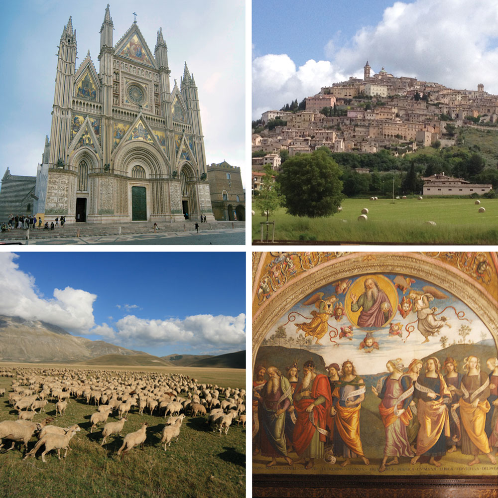 discover Umbria with one of our guided tours