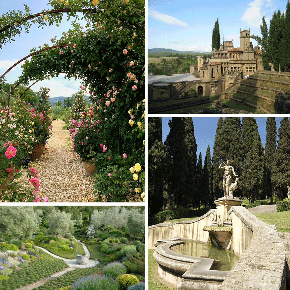 Garden Tour of Umbria